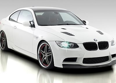 BMW, cars, vehicles, white cars - random desktop wallpaper