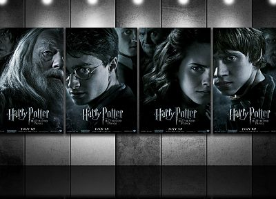 Emma Watson, Harry Potter, Harry Potter and the Half Blood Prince, Daniel Radcliffe, Rupert Grint, Alan Rickman, Hermione Granger, Albus Dumbledore, Ron Weasley, Tom Felton, Draco Malfoy, Severus Snape, Michael Gambon, Fenrir Greyback, David Legeno, Horac - related desktop wallpaper