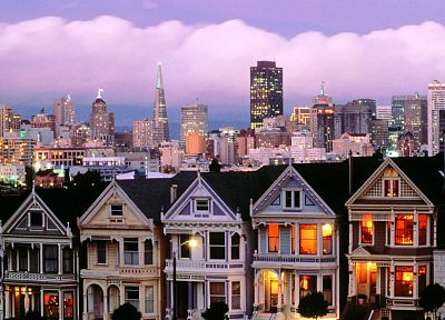 cityscapes, houses - random desktop wallpaper
