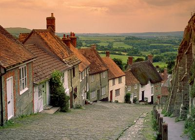 landscapes, houses, European - related desktop wallpaper