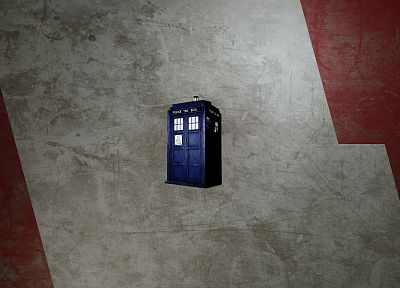 abstract, outer space, TARDIS, police, time travel, Doctor Who - desktop wallpaper