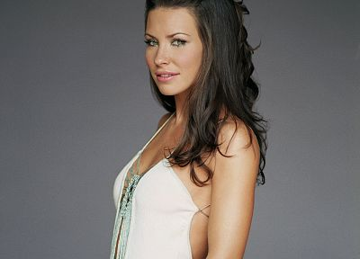 brunettes, women, Evangeline Lilly - related desktop wallpaper