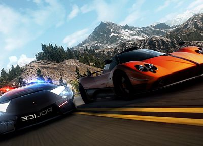 video games, mountains, landscapes, cars, Need for Speed, games - related desktop wallpaper