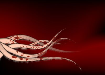 red, tentacles, hail - random desktop wallpaper