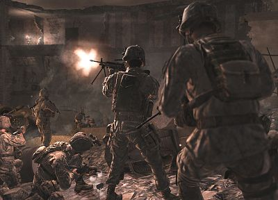 Call of Duty, Call Of Duty 4: Modern Warfare - random desktop wallpaper