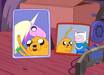 Adventure Time, Finn the Human, Jake the Dog, Lady Rainicorn - random desktop wallpaper