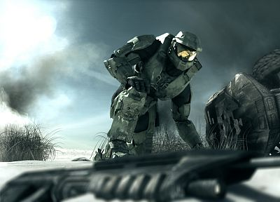video games, Halo, Master Chief - related desktop wallpaper