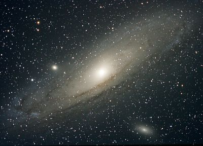 outer space, stars, galaxies, andromeda - related desktop wallpaper