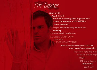 Dexter, television - desktop wallpaper
