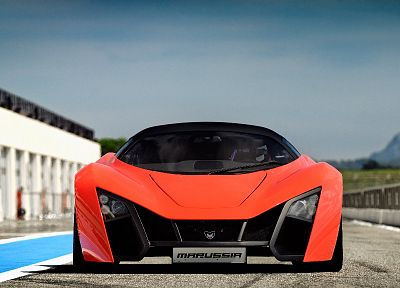 cars, Marussia, front view, russian cars, Marussia B2 - related desktop wallpaper