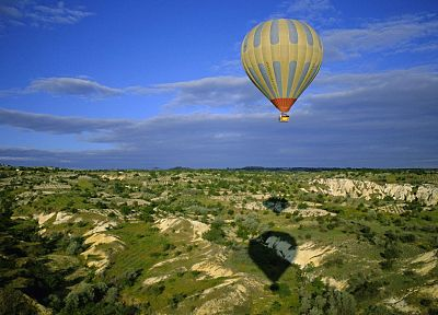 Turkey, Cappadocia, hot air balloons, air - related desktop wallpaper