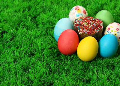 multicolor, easter eggs - random desktop wallpaper
