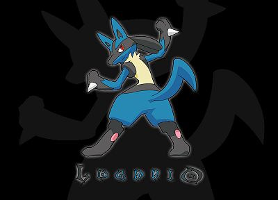 Pokemon, Lucario - desktop wallpaper