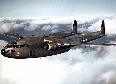 aircraft, United States Air Force, vehicles, air force, Fairchild Aircrafts, C-119, Flying Boxcar, old photography - related desktop wallpaper