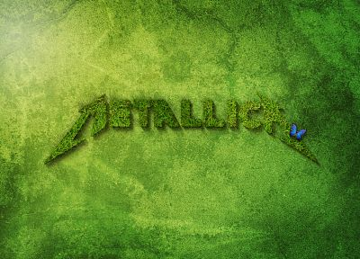 metal, grass, Metallica, FILSRU - random desktop wallpaper