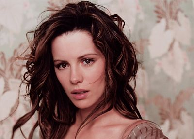 brunettes, women, actress, Kate Beckinsale, celebrity, faces, portraits - related desktop wallpaper