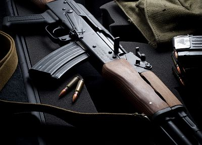 guns, weapons, ammunition, Avtomat Kalashnikova, AK-47, automatic weapons, 7, 62x39mm - desktop wallpaper
