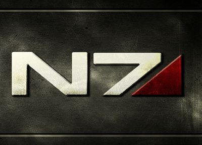 Mass Effect, N7 - random desktop wallpaper