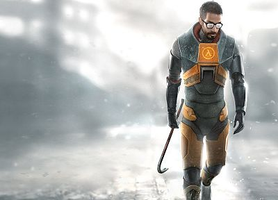 Gordon Freeman, Half-Life 2 - random desktop wallpaper