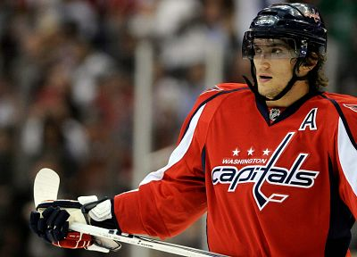 sports, hockey, NHL, Alexander Ovechkin, Washington Capitals - random desktop wallpaper
