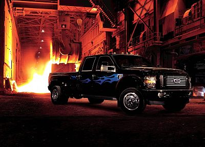 trucks, vehicles, Ford F350 Harley Davidson Edition - related desktop wallpaper