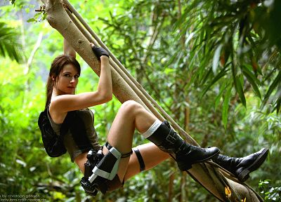 women, Tomb Raider, Lara Croft - random desktop wallpaper