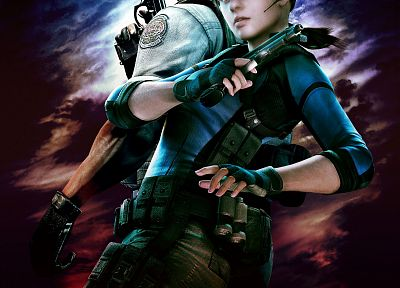 Resident Evil, Jill Valentine, Chris Redfield - random desktop wallpaper