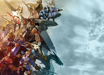 video games, Final Fantasy Tactics: The War of the Lions, Agrias Oaks - random desktop wallpaper