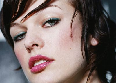 women, actress, Milla Jovovich - related desktop wallpaper