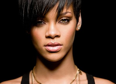 women, black people, Rihanna, stare, celebrity, singers - related desktop wallpaper