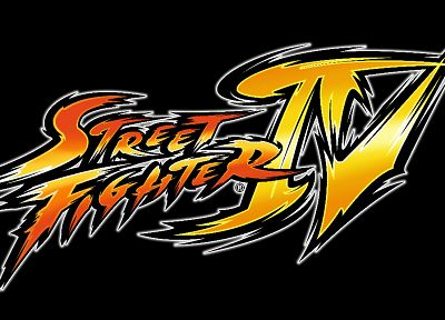 video games, Street Fighter, Capcom, Street Fighter IV, logos - random desktop wallpaper