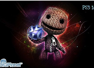 Little Big Planet, Sackboy - random desktop wallpaper