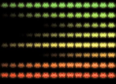 video games, Space Invaders, retro games - related desktop wallpaper