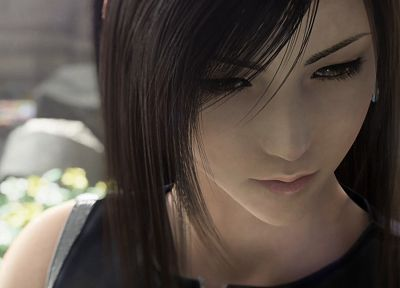 Final Fantasy, Final Fantasy VII, Final Fantasy VII Advent Children, Tifa Lockheart, 3D girls, 3D - desktop wallpaper