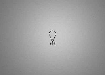 minimalistic, light bulbs - random desktop wallpaper