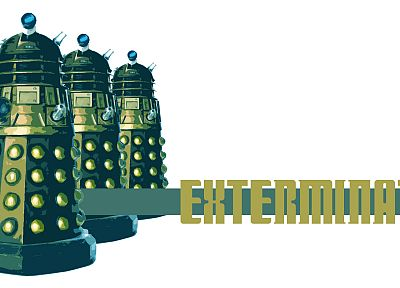 Dalek, exterminate, Doctor Who - random desktop wallpaper