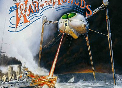 music, War of the Worlds, album covers, Jeff Wayne, 70's - related desktop wallpaper