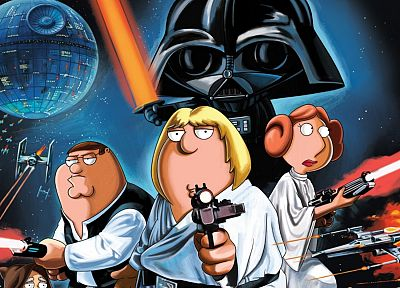 Star Wars, Family Guy - random desktop wallpaper