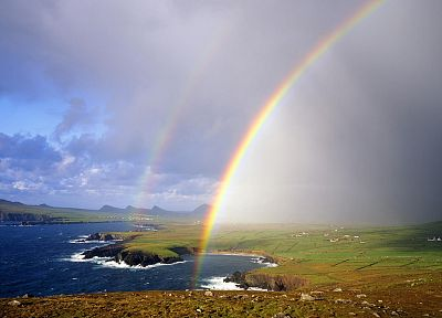 rainbows, skyscapes - random desktop wallpaper
