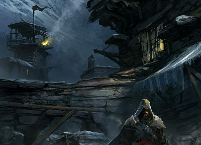 video games, Assassins Creed, artwork - desktop wallpaper
