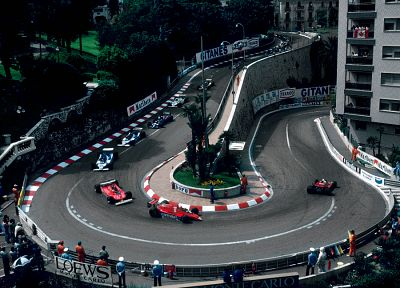 Formula One, Monaco - desktop wallpaper
