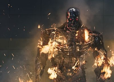 Terminator, movies, Terminator Salvation - duplicate desktop wallpaper