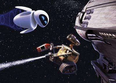 outer space, movies, Wall-E - random desktop wallpaper