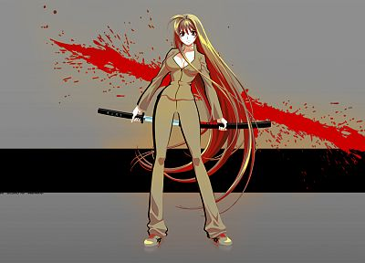 Tenjou Tenge, Natsume Aya, anime - related desktop wallpaper