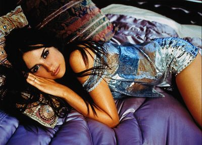brunettes, women, actress, Penelope Cruz, Spanish, Spain - related desktop wallpaper