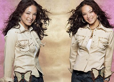 women, Kristin Kreuk, Smallville - random desktop wallpaper