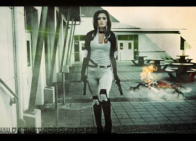 women, video games, cosplay, Mass Effect, Miranda Lawson, BioWare, Mass Effect 2, Jessika F - related desktop wallpaper