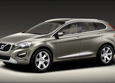 cats, cars, concept cars, SUV, Volvo XC60 concept - desktop wallpaper