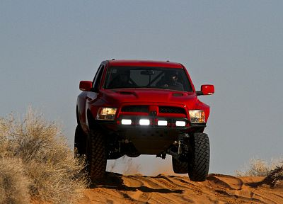 trucks, jumping, vehicles, pickup trucks - random desktop wallpaper