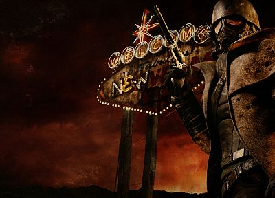Fallout New Vegas - random desktop wallpaper
